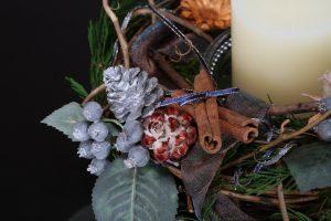 クリスマスキャンドルホルダー